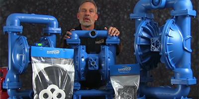 How to Install a Wet End Kit on Diaphragm Pumps